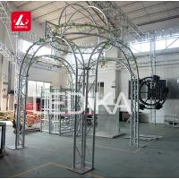 China TUV 290 Lighting Aluminum Roof Truss Tower for Wedding Backdrop Decoration Easy Install on sale