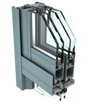 China 6061 T6 Aluminum Curtain Wall Profile for Industrial Buildings wholesale
