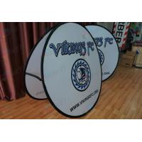 Quality Dye Sublimation Printing Event Display Popup A Frame Banners 140X140CM steel for sale