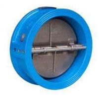 China PN10 Ductile Iron Body Buffer Check Valve With Viton Seat DN15 ~DN1200 wholesale