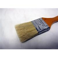Quality Custom Color / Size White Bristle Flat Paint Brush For Wall Painting And Cleaning for sale