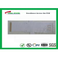 China White Color Flexible PCB Design Single Sided with Immersion Gold wholesale