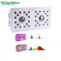 Buy cheap Dimmable CREE CXB3590 led grow light DUAL LENS and 2 Channels for VEG/BLOOM full spectrum from wholesalers