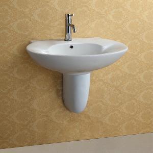 China Wall Hung Ceramic Wash Basin (APH002) wholesale