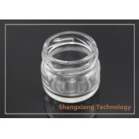 Quality Custom Made 15ml Small Clear Glass Bottles for Manual Candy , Jam for sale