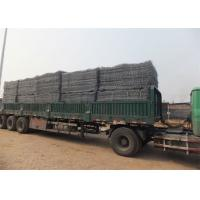 China Custom Plastic Coated Gabion Wire Mesh Boxes Dia 2.0 - 4.0mm Hexagonal Hope Shape wholesale