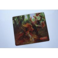China Advertising Non Toxic Rubber Mouse Mat 21*18cm For Computer wholesale