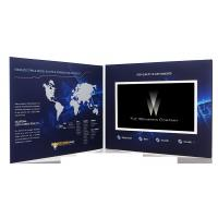 China 7 inch 2GB Video booklet , Marketing lcd video card for company intruction wholesale