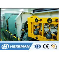 China High Speed Ribbon Fiber Optic Cable Production Line With Four / Six / Twelve Fibers wholesale
