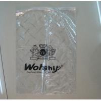 Buy cheap custom recycling zip lock plastic bags for clothes black polythene bags industry from wholesalers