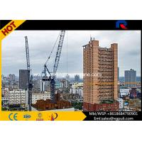Quality Split Mast Section Luffing Jib Tower Crane 2.0t Tip Load With VFD Control for sale
