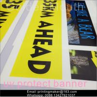 Quality Uv Printing Outdoor Polyester Vinyl Advertising Banners For Business for sale