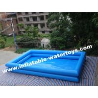 0.6mm Commercial Grade Durable Swimming Inflatable Water Pools with Light Blue Color