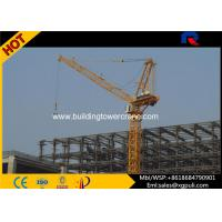 China 162M Max. Height Luffing Jib Tower Crane Span 2-50M Schneider Electric Box wholesale