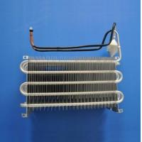 Blue Coating Fin Tube Heat Exchanger / Finned Pipe Heat Transfer Copper Material