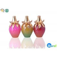 China Red / Yellow Glass Bottle Long Lasting Natural Perfume Floral For Women wholesale