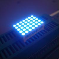 China Good Consistency 5 x 7 LED Dot Matrix Display Yellow Segments Black Face wholesale