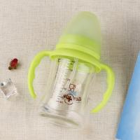 China Comfortable Baby Sipper Water Bottle , Shatterproof Non Spill Bpa Free Milk Bottles 240ml wholesale
