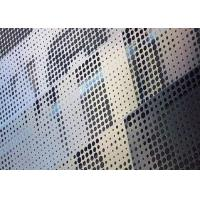 Quality Rectangular Holes Perforated Aluminum Sheet 6061 With 2mm Hole Diameter for sale