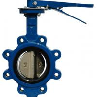 China Lug type API609 Butterfly valve Lever operator / wholesale