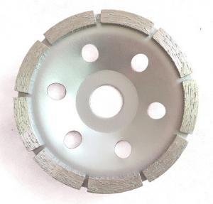 China Single Row Diamond Cup Wheel , Metal Bonded Diamond Grinding Wheels wholesale