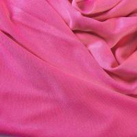 China Luxury Peach Knit Silk Fabric 110gsm Double Sided Jersey wholesale