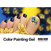China Strong Adhesion Uv Gel Paint For Nails Remove Easily Environment - Friendly wholesale