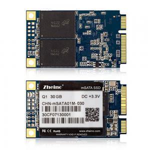 Zheino mSATA SSD CE 30GB For Mini Laptop 30 * 50mm 3 Year Warranty