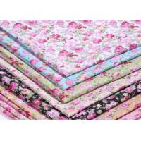 China 133 X 72 Patterned Polyester Twill Fabric With ECO - Freindly Material wholesale