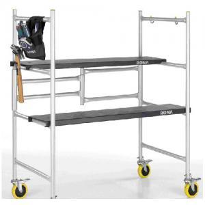 China scaffolding sliding Ladder WYAL-1018 with wheel wholesale
