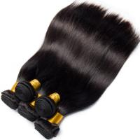Quality Double Weft Straight Virgin Human Hair Bundles 8A Grade Free Tangle No Shedding for sale
