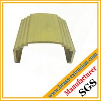 Wholesale copper alloy brass hardware extrusion profiles from china suppliers