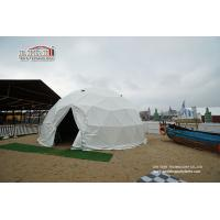 China Steel and PVC Geodesic Event Dome Tent for Beer Festival , geo shelter dome tent wholesale
