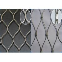 China AISI 316 Grade Stainless Steel Wire Rope Mesh Anti - Falling Mesh Fence on sale