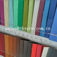 China High Quality PU Synthetic Leather Material For Shoes with Crumpled Pattern wholesale