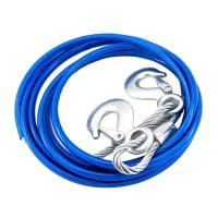 China Auto Car Emergency Tow Strap for Vehicles Recovery with Safety Hooks , 4 meters wholesale