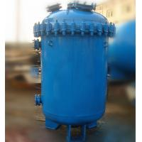China 500L Carbon Steel Glass Lined Vessel , K Type / F Type Jacketed Reactor Vessel wholesale