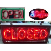 Buy cheap Display Function Tube Chip Color led open sign from wholesalers