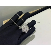 China Piaget Rose Pendant With 18k Gold Chain , Women'S Piaget Diamond Necklace luxury jewelry for sale wholesale
