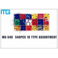 China TE E Colorful Terminal Assortment Kit MG-540 540 pcs Customized 18 Types wholesale