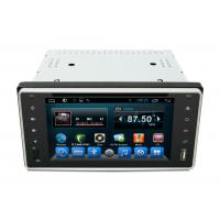 China 2 Din Hifi & Entertainment Toyota Camry Navigation System , Corolla Car Navigation Devices Universal wholesale