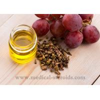 China Yellow Oild Liquid Grapeseed Oil For Cooking Cosmetics And Dissolved Steroid wholesale