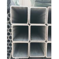 China Stainless Industrial Square Steel Pipe , Hot Finish Seamless Square Steel Tubing Plain Ends wholesale