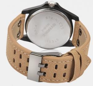 Quality Wholesale Oem Synoke Men PU Band Watwerproof 30m Casual Quartz Wrist Watches for sale