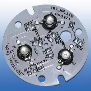 China Professional Led Lighting Aluminium PCB Printed Circuit Board White Solder Mask wholesale