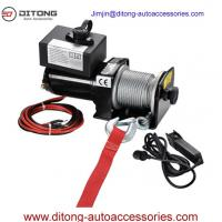 China 2000LBS 12VDC Self Recovery Electric Winch for Jeep Truck Trailer SUV CE on sale