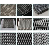 China Custom Chain Link Conveyor Belt , Furnace Use Metal Mesh Conveyor Belt wholesale