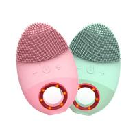 China Waterproof Rechargeable Face Beauty Device Gentle Exfoliation Massager Facial Cleansing Brush wholesale