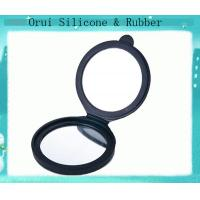 China Outdoor travelling mini silicone cosmetic mirror for making-up wholesale