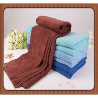 Quality custom blue promotional100% disposable bath or face towel for restaurant for sale